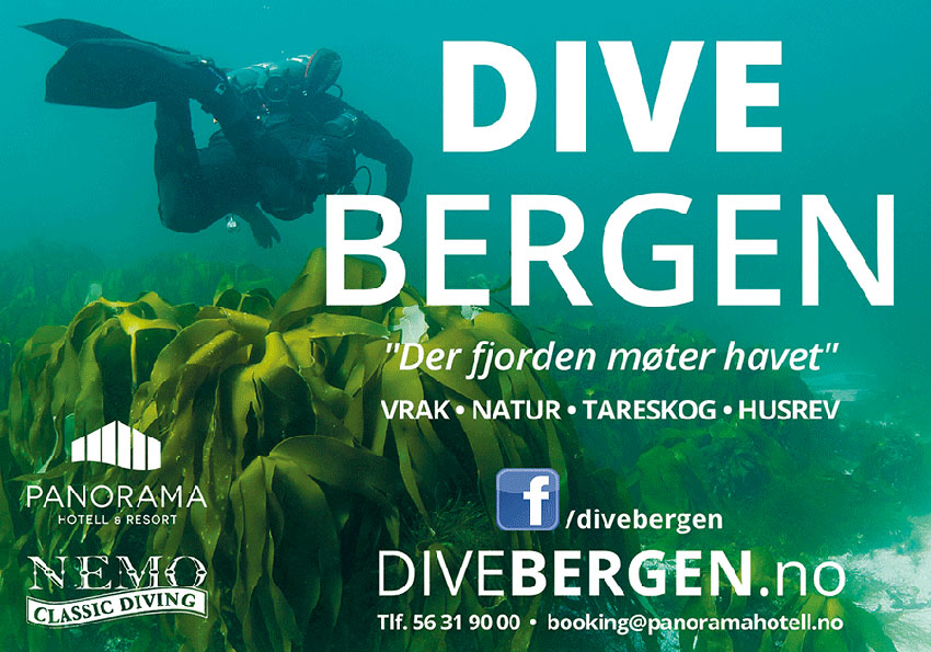 Annonsebanner Dive Bergen