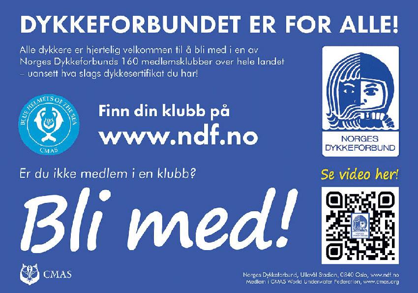 Annonsebanner NDF bli med