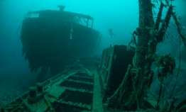 Norway's iconic twin wrecks turns 75 years